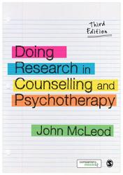 Doing Research in Counselling and Psychotherapy PDF