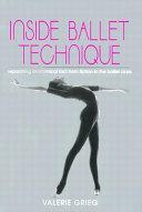 Inside Ballet Technique Book PDF