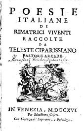 Poesie italiane di rimatrici viventi