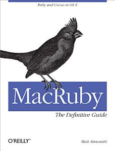 MacRuby  The Definitive Guide PDF