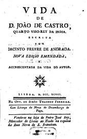 Vida de D. João de Castro, quarto viso-rey da India