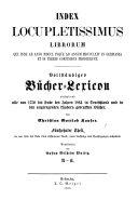 B  cher Lexikon  1750 1910 PDF