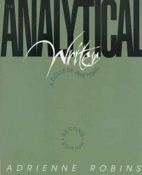The Analytical Writer Book PDF