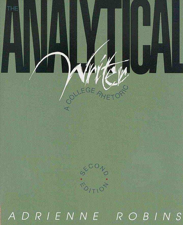 The Analytical Writer