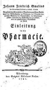 Einleitung in die Pharmacie