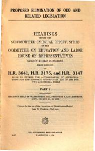 Hearing held in Washington  D C   February 7  8  27  Detroit  Mich   March 19  20  1973 PDF