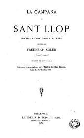 La Campana de Sant Llop: comèdia en dos actes y en vers
