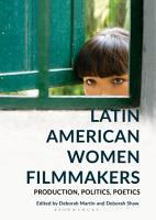 Latin American Women Filmmakers PDF
