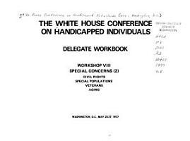 Special concerns  2   civil rights  special populations  veterans  aging PDF