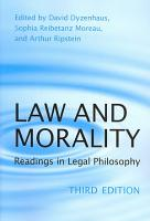 Law and Morality PDF