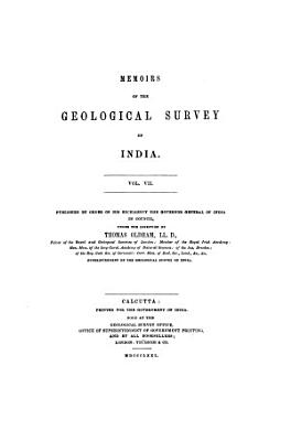 Memoirs of the Geological Survey of India PDF