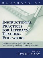 Handbook of Instructional Practices for Literacy Teacher educators PDF