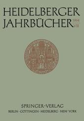 Heidelberger Jahrbücher: Band 8
