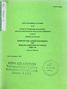 Cobalt 60 Spark gap Irradiators  Licensing Exemption PDF