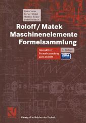 Roloff / Matek Maschinenelemente: Formelsammlung, Ausgabe 6