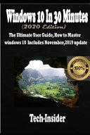 Windows 10 In 3o Minutes  2020 Edition  PDF