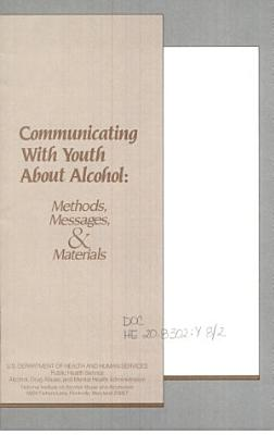 Communicating with Youth about Alcohol