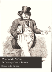 Honoré de Balzac in Twenty-five Volumes: The First Complete Translation Into English, Volume 8