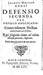 Pro populo anglicano defensio