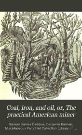 Coal, Iron, and Oil, Or, The Practical American Miner: A Plain and Popular Work on Our Mines and Mineral Resources, and a Textbook Or Guide to Their Economical Development ...