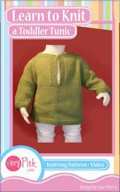 Learn to Knit a Toddler Tunic