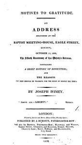 Motives to gratitude, an address delivered Oct. 25, 1809, the 50th anniversary of his majesty's accession: Volume 1