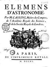 Élemens d'astronomie