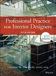Professional Practice For Interior Designers Book PDF