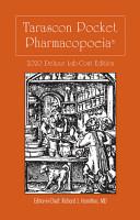 Tarascon Pocket Pharmacopoeia 2020 Deluxe Lab Coat Edition PDF