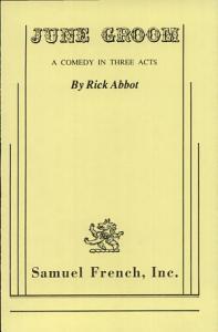 June Groom Book