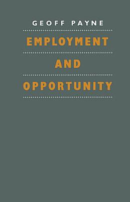 Employment and Opportunity PDF