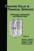Creating Value in Financial Services PDF