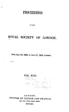 Proceedings of the Royal Society of London PDF