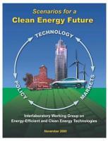 Scenarios for a Clean Energy Future PDF