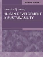 International Journal of Human Development and Sustainability Vol 4  No 1 PDF