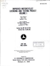 Improved Motorcyclist Licensing and Testing Project