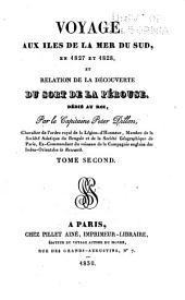 Voyage aux îles de la mer du Sud, en 1827 et 1828, et relation de la découverte du sort de La Pérouse ...