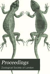 Proceedings of the General Meetings for Scientific Business of the Zoological Society of London