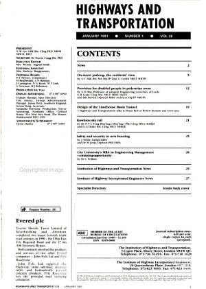 Highways and Transportation PDF