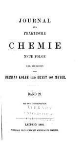 Journal für praktische Chemie: Bände 131-132