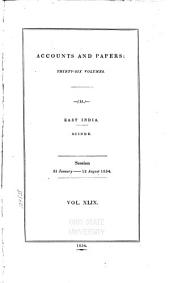 Parliamentary Papers: 1850-1908, Volume 49