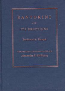 Santorini and Its Eruptions Book