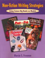 Non fiction Writing Strategies Using Science Big Books as Models PDF