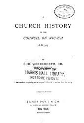 A Church History ...: Volume 1
