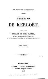 Bertrand de Kergoët: Volume2