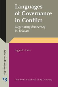 Languages of Governance in Conflict PDF
