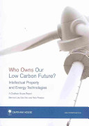 Who Owns Our Low Carbon Future?
