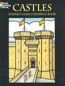 Castles Stained Glass Coloring Book