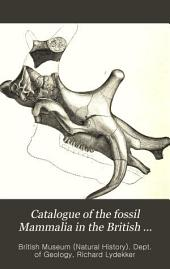 Catalogue of the Fossil Mammalia in the British Museum, (Natural History): The order Ungulata, suborders Perissodactyla, Toxodontia, Condylarthra, and Amblypoda. 1886