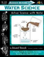 Science Action Labs Water Science PDF
